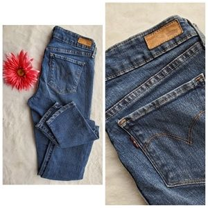 🔥LEVI'S sz 26 demi curve skinny jeans